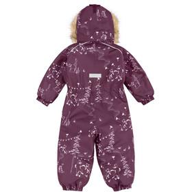 Reima Lappi Combinaison D'Hiver Enfants en bas âge, deep purple